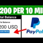 Get $200+ Every 10 Minutes! (How To Make Money Online In 2021)