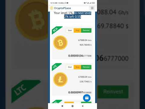 bitcoin mining at cryptoplace link in description