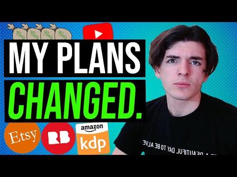 My Making Money Online Plans CHANGED. - Online Entrepreneur Progress Update/ Check-In