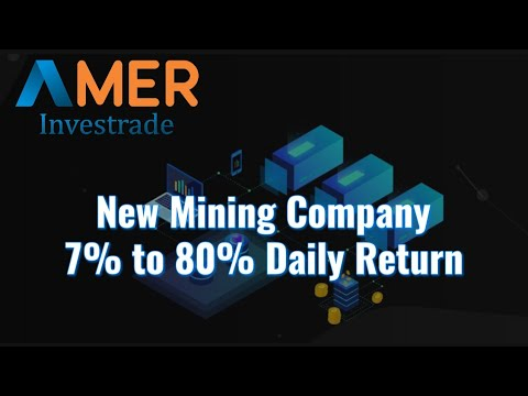 AMER Investrade New Crypto Mining Site | High yield investment Program Crypto mining | Crypto Guide