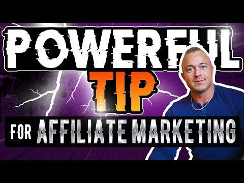[POWERFUL TIP] Affiliate Marketing For Beginners - Make Money Online 2021   Affiliate Marketing 2021