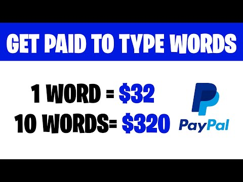 Earn $32 FOR EVERY WORD YOU TYPE! (Earn Money Online 2021)
