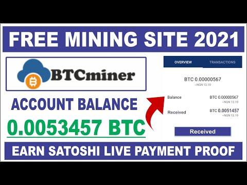 Btcminer - Earn Free Bitcoin Mining 2021   Get 0.001btc Signup Bonus Live Payment Proof Urdu Hindi