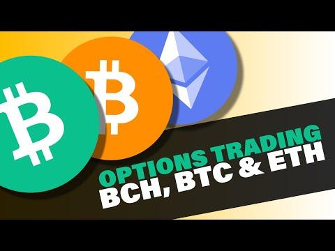 BCH, BTC & ETH Options Trading
