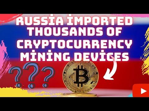 Huge Amount of Bitcoin Mining Equipment Purchase from Russia ⁉️