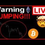 💥EMERGENCY!!🚨BITCOIN & ETHEREUM DUMPING!-BTC & ETH Live Trading, Technical Analysis & News