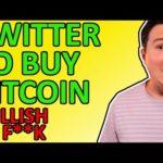 BREAKING BITCOIN NEWS!!! TWITTER TO BUY BTC! MASTERCARD INTEGRATES CRYPTO! [Bullish AF]