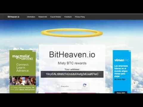 Биткоин кран BitHeaven от 300 до 25 000 сатоши каждые 30 минут!