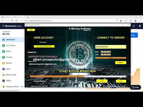 Best Bitcoin Mining Software In 2021-2022 ⚡X-mining Software ⚡ PROOF PAYMENT 0,16 BTC in 5minute