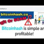 Bitcoinhash.co Review   Scam or legit?   Free Bitcoin Mining Site   Crypto Duniya