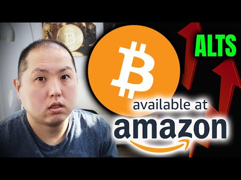 AMAZON JUMPING ON BITCOIN BANDWAGON!! ALTCOINS RALLY!!