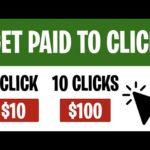 Earn $10 Per Click! (Make Money Online Fast)
