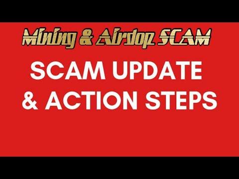 AIRDROP CRYPTO & MINING SCAM -  Daftar Hitam 3 Website SCAM!!