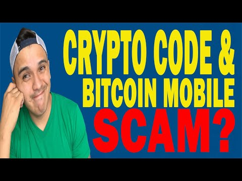 Crypto Code & Bitcoin Mobile SCAM Reviews - Auto Trading Software's SCAMERS?