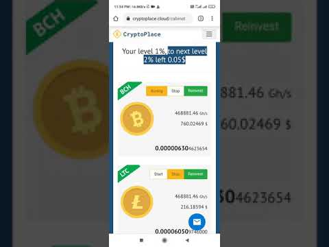 Bitcoin Mining Link In description