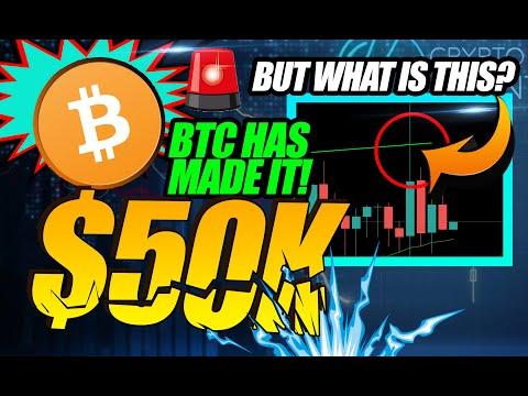 BITCOIN HAS DONE IT! $50,000 DOWN! BUT WHAT'S UP WITH THIS RESISTANCE?