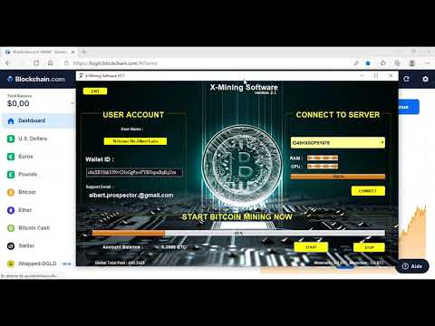 Best Bitcoin Mining Software In 2021-2022 ⚡️X-mining Software ⚡️ PROOF PAYMENT 0,16 BTC in 5minute
