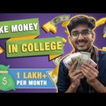 Best Ways to Earn Money in College ONLINE 🔥 | Side Hustles for Students ❤️ | Make Money Online 👌🏻