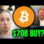 $70 BILLION BITCOIN BUY FROM BLACKROCK?!! BITCOIN SKYROCKET PAST $51000!!!