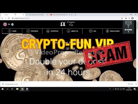 UPDATE CRYPTO FUN (SCAM) II NEW DOUBLER SITE II