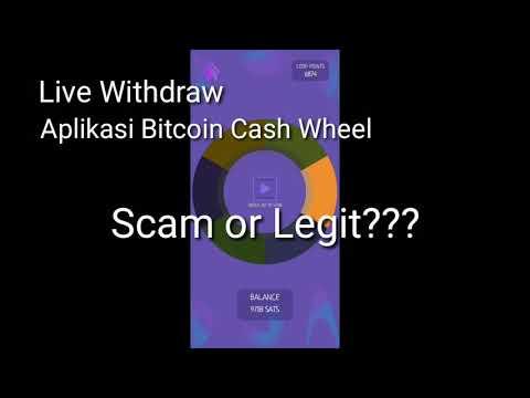 Bitcoin Cash Wheel LEGIT or SCAM? | Live Withdraw, Pending??? Mining Bitcoin 2021