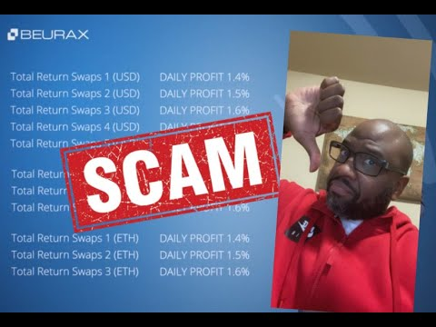 Beurax Scam Review 2021- Don't Join Beurax Ethereum Crypto Business Until You *WATCH* This Video