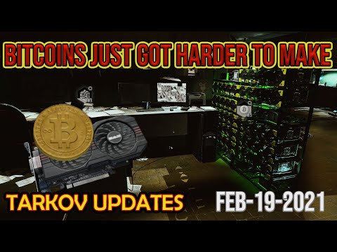 The Bitcoin Farm got nerfed again - Escape From Tarkov - Tarkov News