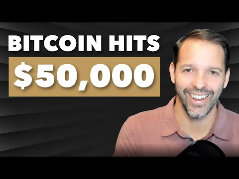 Bitcoin Hits $50,000 — and the Rally Just Started
