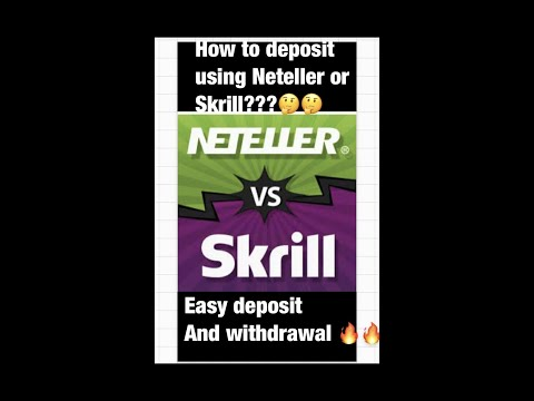 How to deposit via Neteller and skrilll??..On merchant sites
