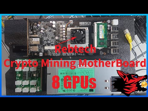 Rebtech All In One Crypto Mining Motherboard