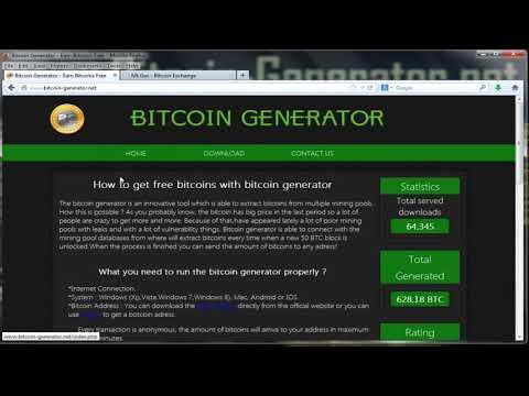 Bitcoin Generator - Earn Free Bitcoins