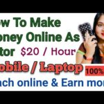 How to Make Money Online as Teacher ? Online Teaching jobs 2021 | Work From Home|Best Sites To Tutor
