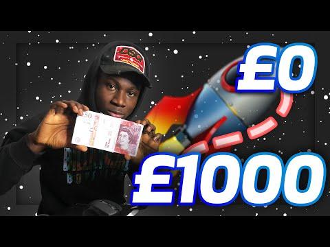 0 To £1000 Making Money Online Challenge Episode 1: Freebies