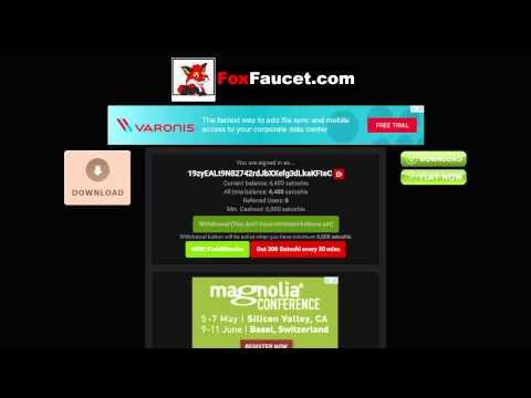 Биткоин кран Fox Faucet 250 сатоши каждые 10 минут!!! 1 500 satoshi в час