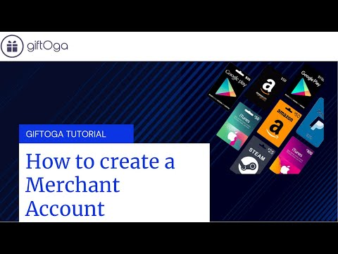 How to Create a Merchant Account on GiftOga