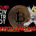 MARKET OPEN: CRYPTO FALLING?! (Bitcoin & Doge) || STOCK ANALYSIS: CCIV, PLTR, RIOT  & More