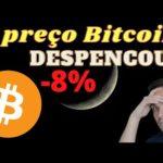 O preço do Bitcoin DESPENCOU!!! Chegamos no topo?