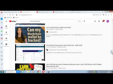 channels scammers who copy our videos   Hack bitcoin wallet