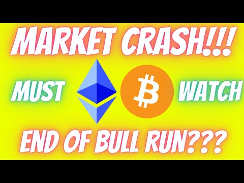 Ethereum ETH & Bitcoin BTC News - MARKET CRASH!!! IS THIS THE END??? MUST WATCH Market Breakdown!!!