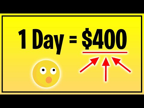 Earn $400+ PER DAY FROM NEW WEBSITE! [Make Money Online 2021]