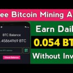 New Bitcoin Mining App 2021 Without Investment | New Bitcoin Earning App 2021 | Free BTC Mining App