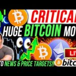 CRITICAL!!🚨BITCOIN HUGE MOVE!! F2 POOL DUMP?! MY NEXT TRADE!! BULLISH ALTCOINS!! BTC & ETHEREUM NEWS