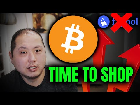 BITCOIN SELL PRESSURE IS OVER!! TIME TO SHOP FOR BARGAINS!!!