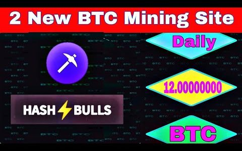 Bitcoin Mining Site / 2 Letest Bitcoin Earning Websites / Earn Daley 0.002 BTC