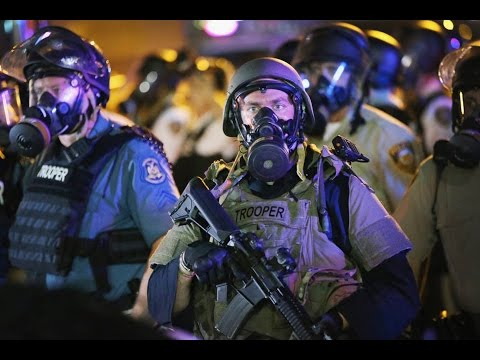 FERGUSON Protesters WAKE UP to the NEW WORLD ORDER