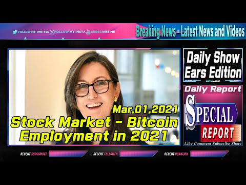 ARK Invest Cathie Wood   How Stock Market, Bitcoin, Employment will play out in 2021