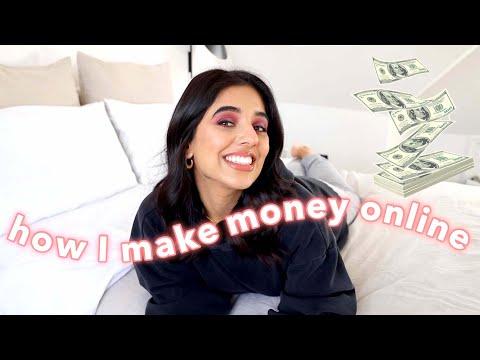 How I make money online + my 3 revenue streams