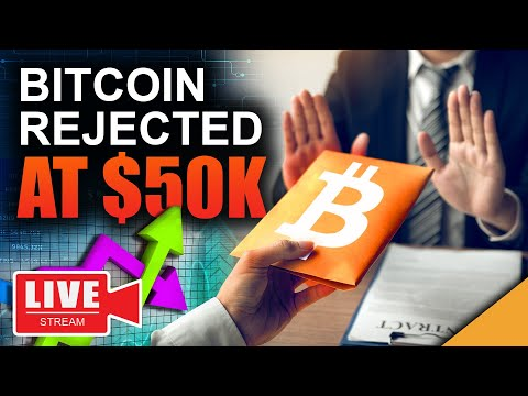 Bitcoin Rejected at $50K (Will It Ever Breakthrough)