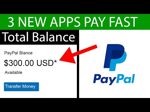3 New Apps That Pay You PAYPAL MONEY FAST ($300+) | Make Money Online
