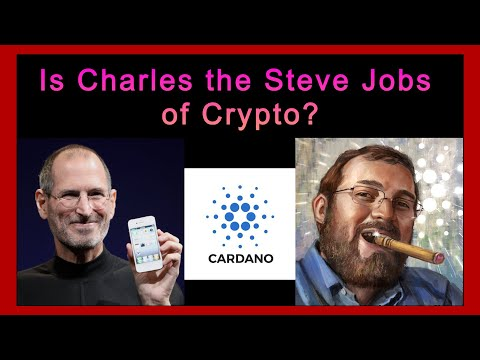 Is Charles the Steve Jobs of Crypto? #ADA #DOGE #Bitcoin